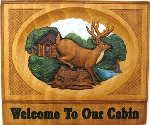 Cabin Welcome